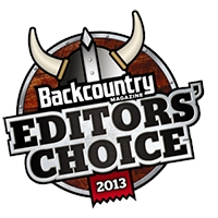 Backcountry Magazine - Editor's Choice 2012/2013