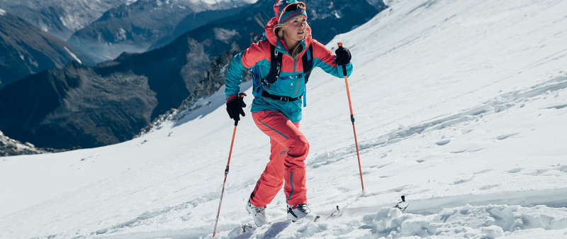 Dynafit Athlete Malene Haukoy training for Patrouille des Glaciers