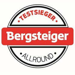 BS-Button-Allround: Testsieger Bergsteiger Allround