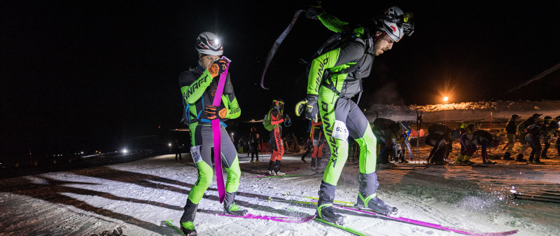 Dynafit Athletes at the Sellaronda Skimarathon Italy